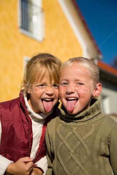 улыбка детей дети домой Сток-фото © Kzenon