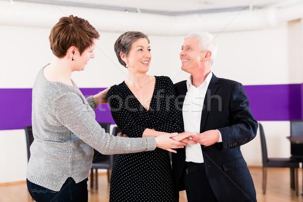 Сток-фото: Dance · инструктор · женщину · человека · пару