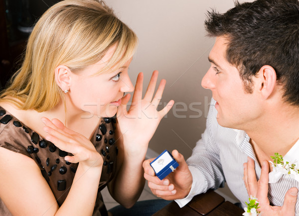 Proposing Stock photo © Kzenon