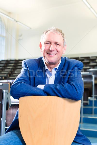College professor in auditorium  Stock photo © Kzenon