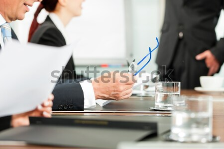 Applause for a presentation in meeting Stock photo © Kzenon