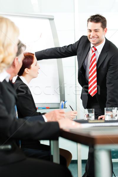 Business - presentation within a team Stock photo © Kzenon
