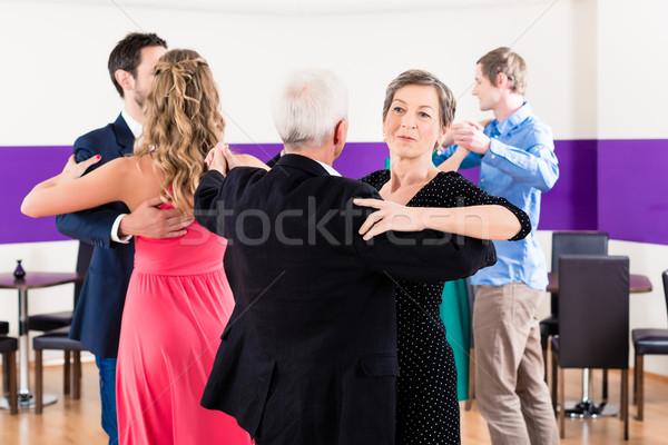 Сток-фото: группа · людей · танцы · Dance · класс · женщину