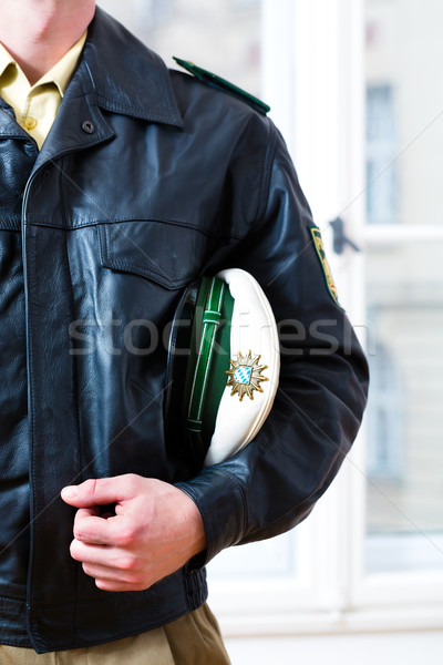 Police Officer in station or department is ready Stock photo © Kzenon
