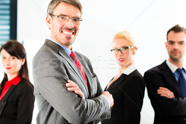 Affaires groupe gens d'affaires bureau réussi équipe Photo stock © Kzenon