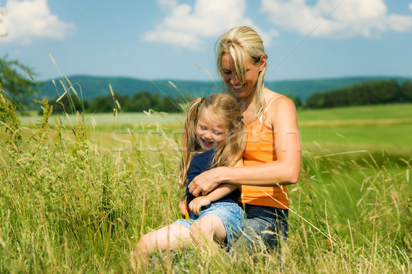 Mother and Daughter Stock photo © Kzenon