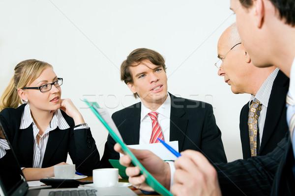 Business meeting Stock photo © Kzenon