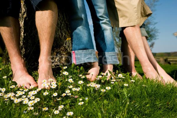 Healthy feet - In a row Stock photo © Kzenon