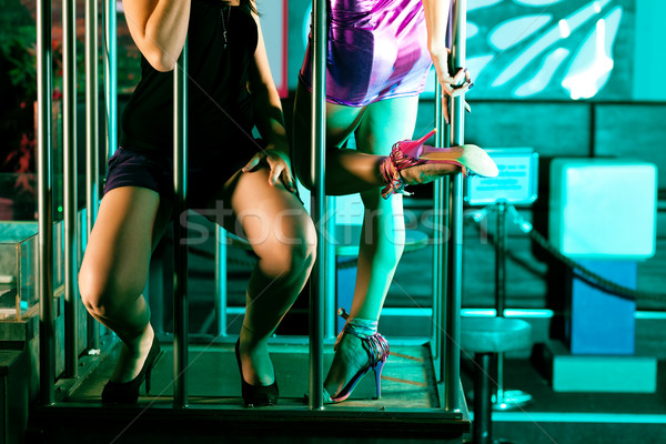 Go-go dancer in disco or nightclub Stock photo © Kzenon