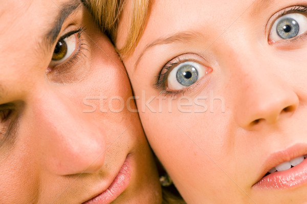 Psycho Couple Stock photo © Kzenon