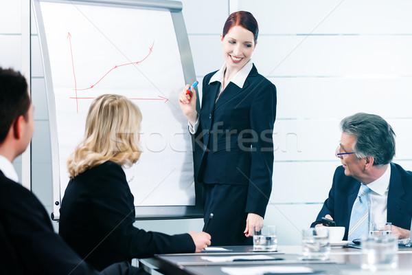 бизнеса презентация команда служба коллега Постоянный Сток-фото © Kzenon