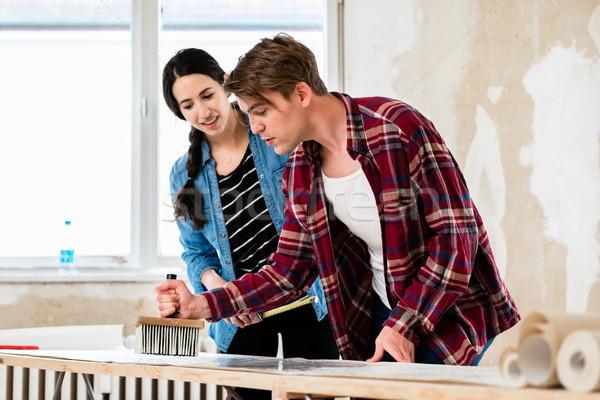Teilung Werkzeuge arbeiten Verbesserung neues Zuhause Stock foto © Kzenon