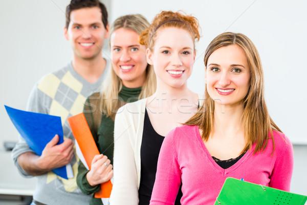 College students passed examination Stock photo © Kzenon