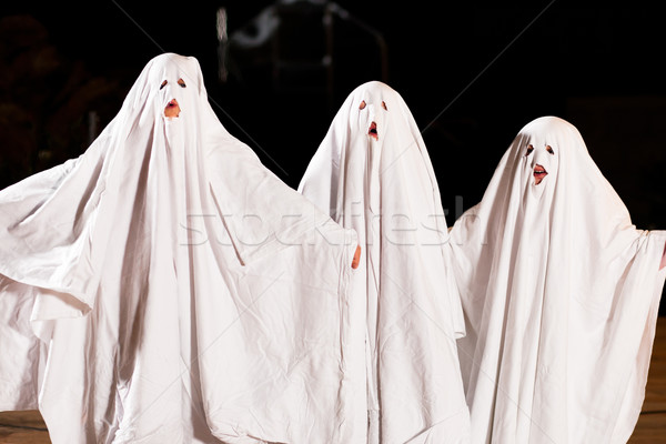 Very scary spooks on Halloween Stock photo © Kzenon