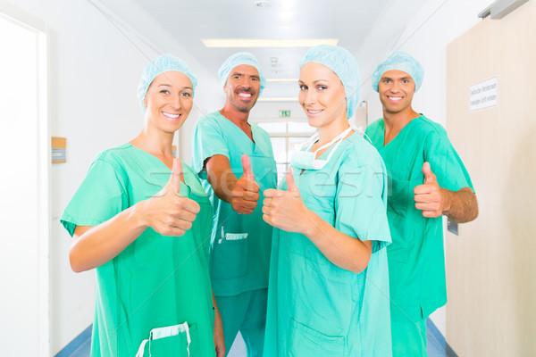 Surgeons in Hospital or clinic as team Stock photo © Kzenon