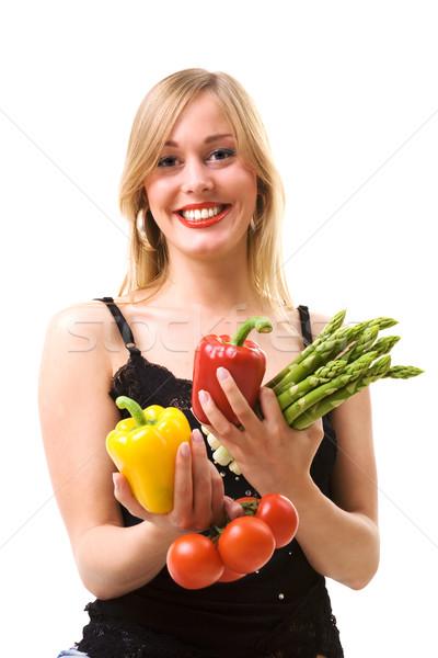 try this vegetable Stock photo © Kzenon