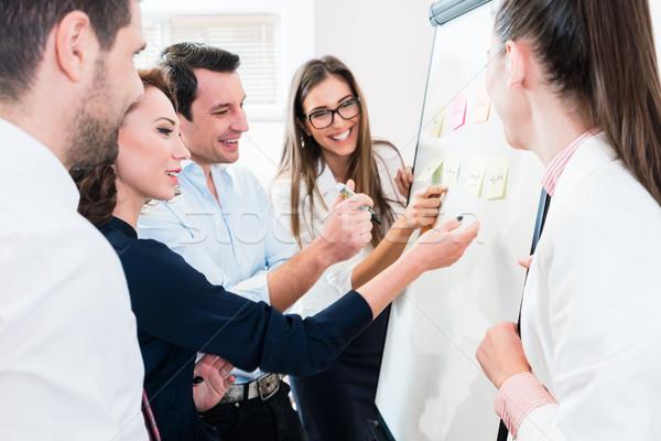Negócio recurso planejamento equipe conselho Foto stock © Kzenon