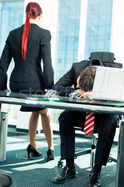 Business - stress in the office Stock photo © Kzenon