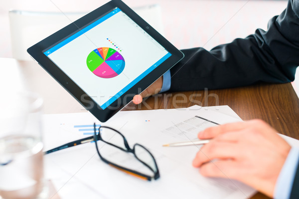 бизнеса бизнесмен рабочих банкир менеджера Сток-фото © Kzenon