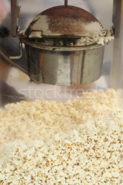 Old popcorn machine  Stock photo © laciatek