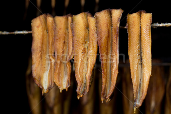smoked fish - herring Stock photo © laciatek