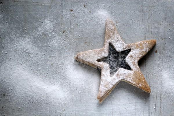 shortbread cookie background Stock photo © laciatek
