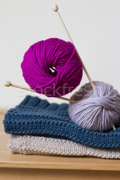 knitting Stock photo © laciatek