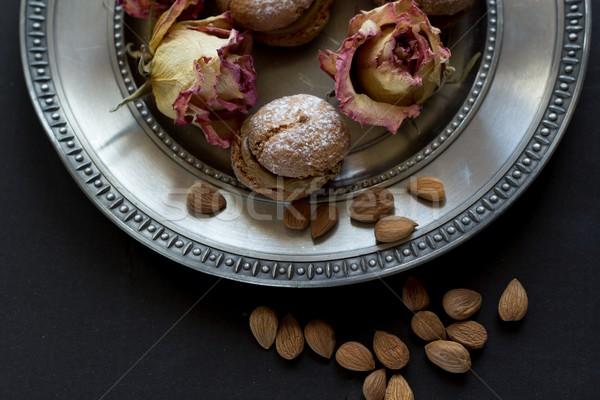 macaroons Stock photo © laciatek