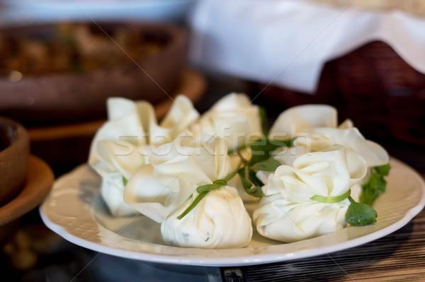 Georgian cheese pockets Stock photo © laciatek