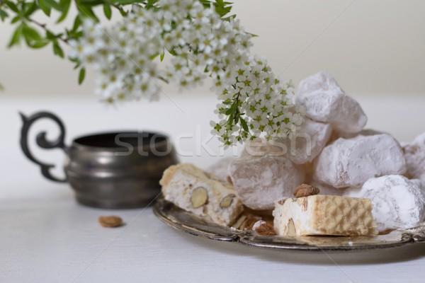 lokum and nougat Stock photo © laciatek