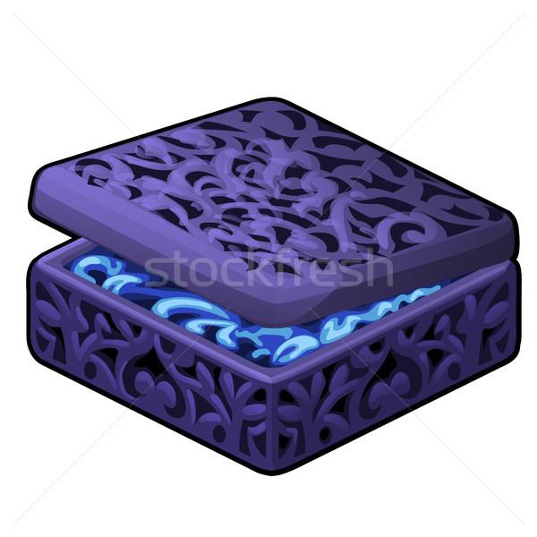 Purple цвета ювелирные изолированный Сток-фото © Lady-Luck