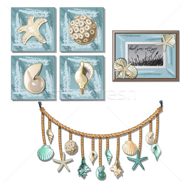 Tableaux exotique intérieur Photo stock © Lady-Luck