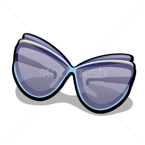 Modern divatos napszemüveg izolált fehér vektor Stock fotó © Lady-Luck