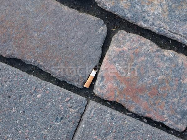 Sigaretta salute fumare terra dipendenza Foto d'archivio © Laks