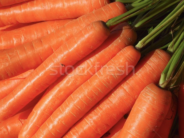Zanahorias alimentos dieta saludable crudo vegetariano Foto stock © Laks
