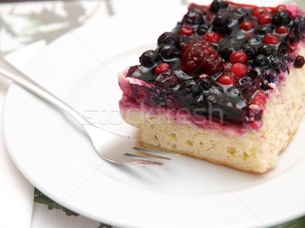 Berry Cake  Stock photo © Laks
