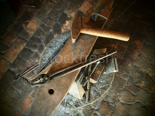 Tools of a Blacksmith Stock photo © Laks