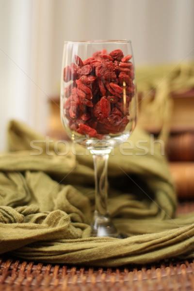 Frutti di bosco vetro sani Foto d'archivio © Laks
