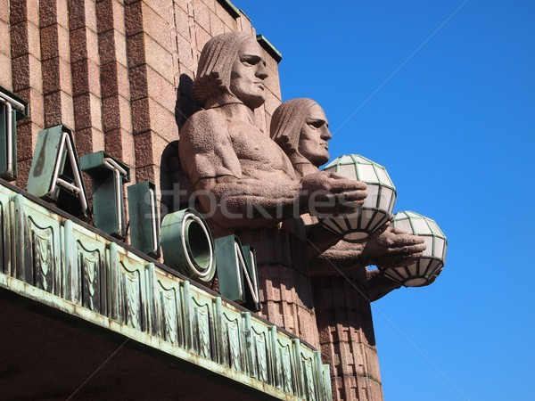Stock photo: Helsinki Railway Station