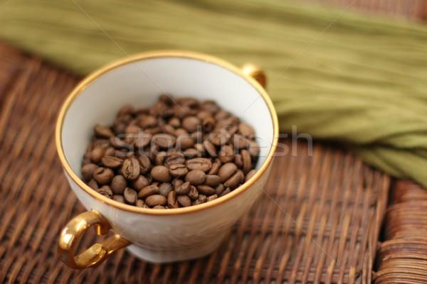Foto d'archivio: Caffè · bere · Cup · bean · rosolare