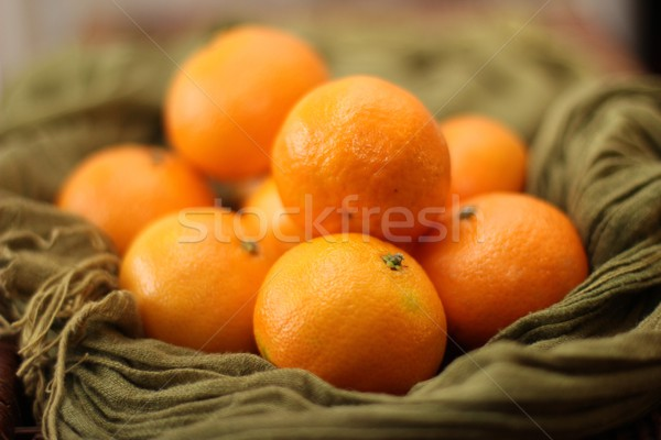 Mandarino arance frutta Foto d'archivio © Laks