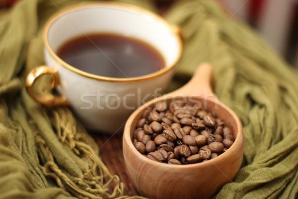 Caffè bere Cup bean rosolare Foto d'archivio © Laks