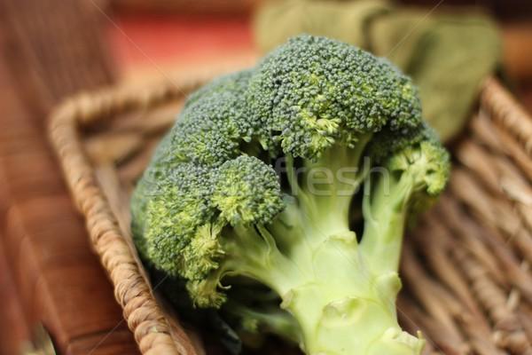 Broccoli verde vegetali fresche greggio vegetariano Foto d'archivio © Laks