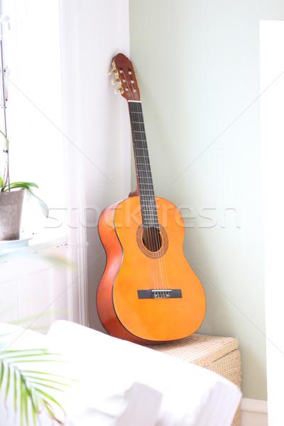 Chitarra stanza strumento Foto d'archivio © Laks