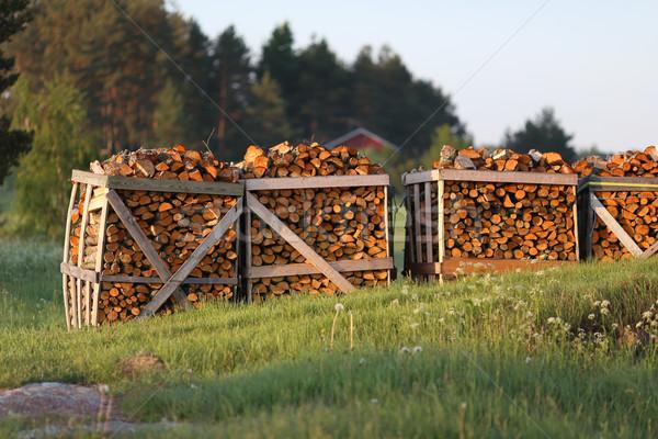 Firewood Stock photo © Laks