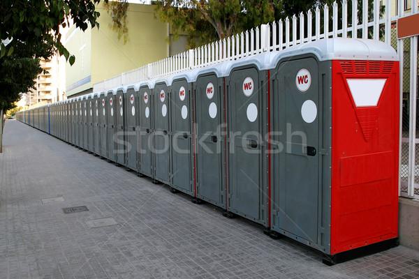 Portable Bathrooms                           Stock photo © lalito