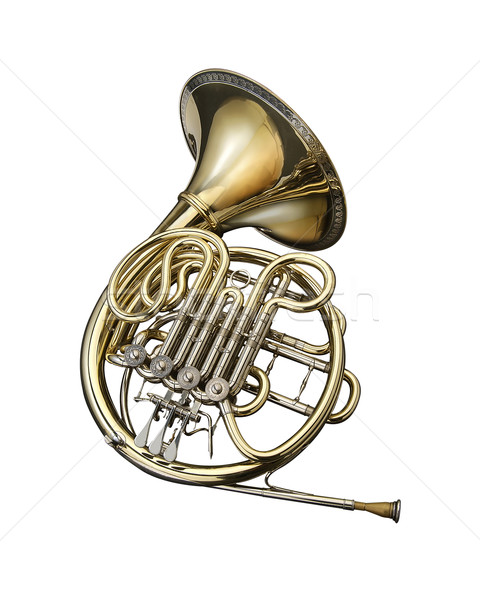 French horn Stock photo © lalito
