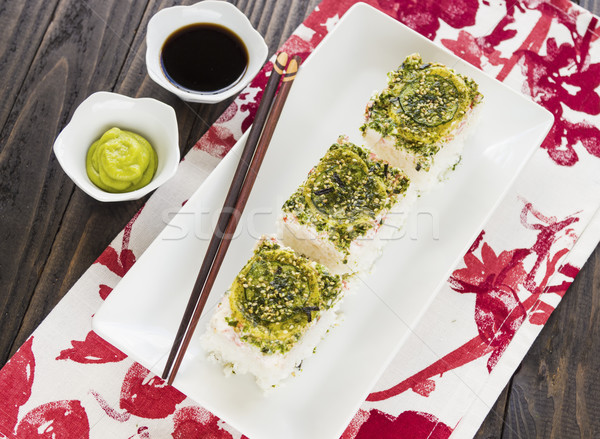California Pan Sushi Stock photo © LAMeeks