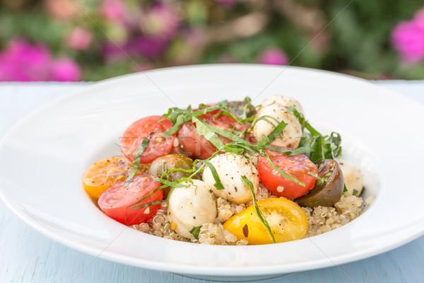 Caprese Quinoa Salad Stock photo © LAMeeks