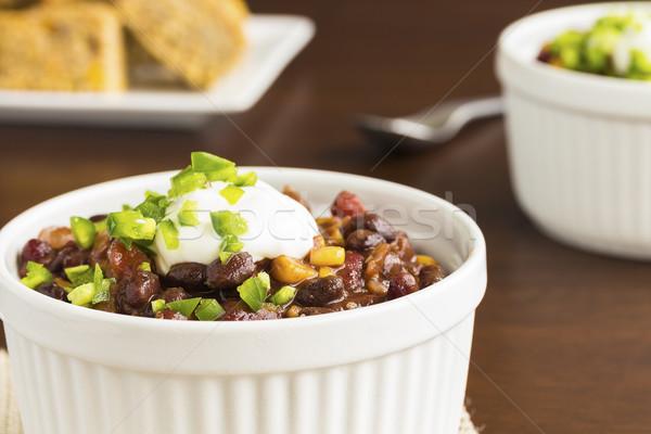 Veggie Chili Stock photo © LAMeeks